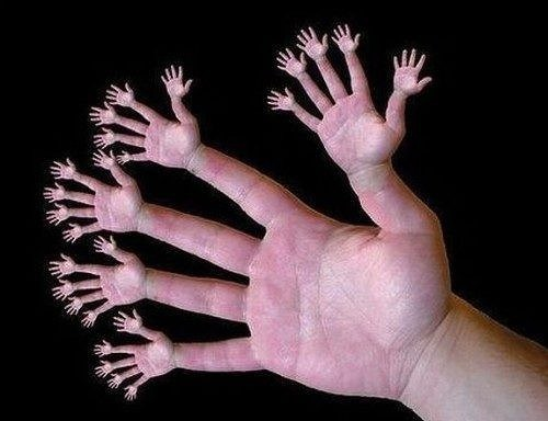 How many hands puzzle