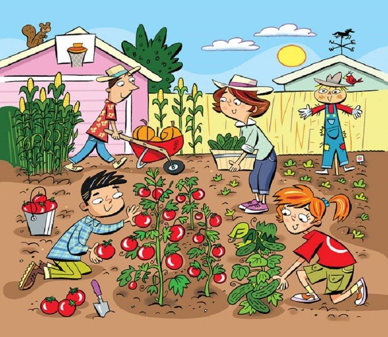 hidden words in gardening puzzle
