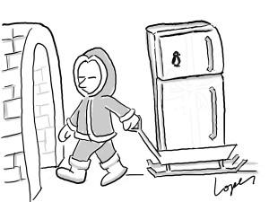 fridge for eskimo puzzle
