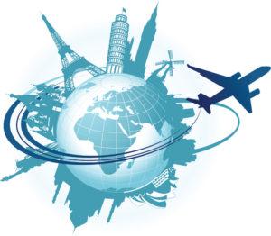 travel world in corner puzzle